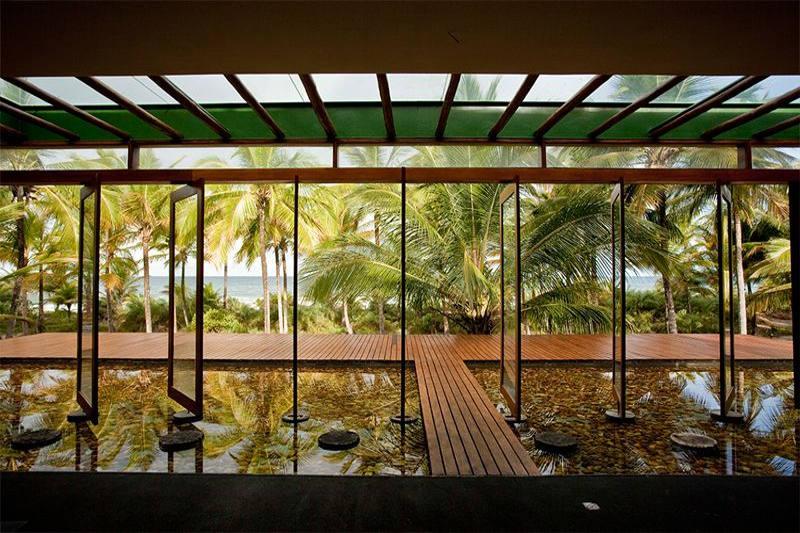 Ambientes do Spa trazendo decoração com toque de relaxamento