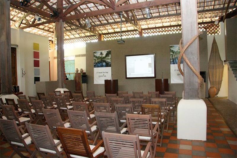 Salão dedicados para reuniões empresariais