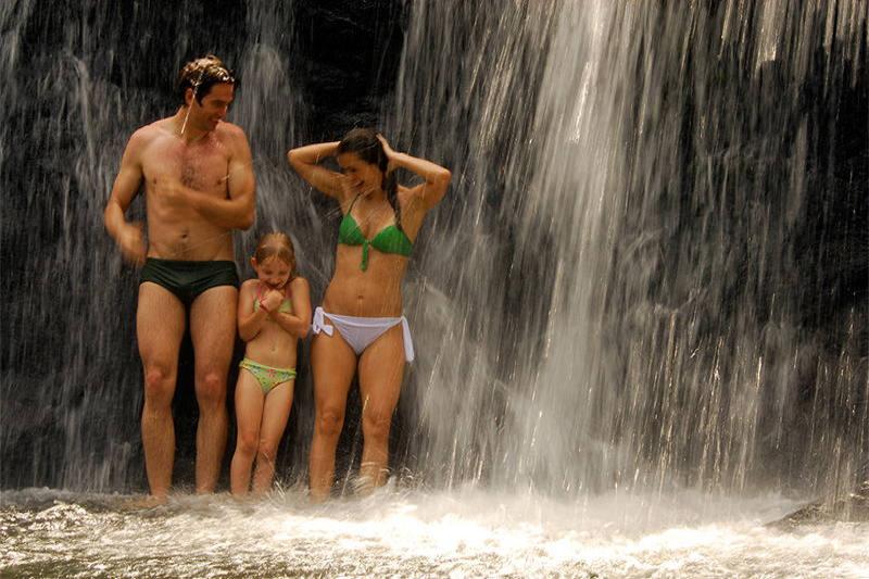 familia-cachoeira