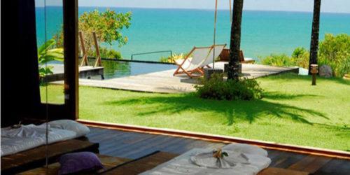 Vista Spa trazendo vista mar com toque de relaxamento